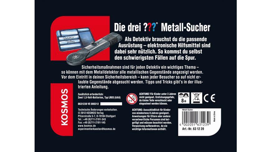 KOSMOS Die drei Metall Sucher