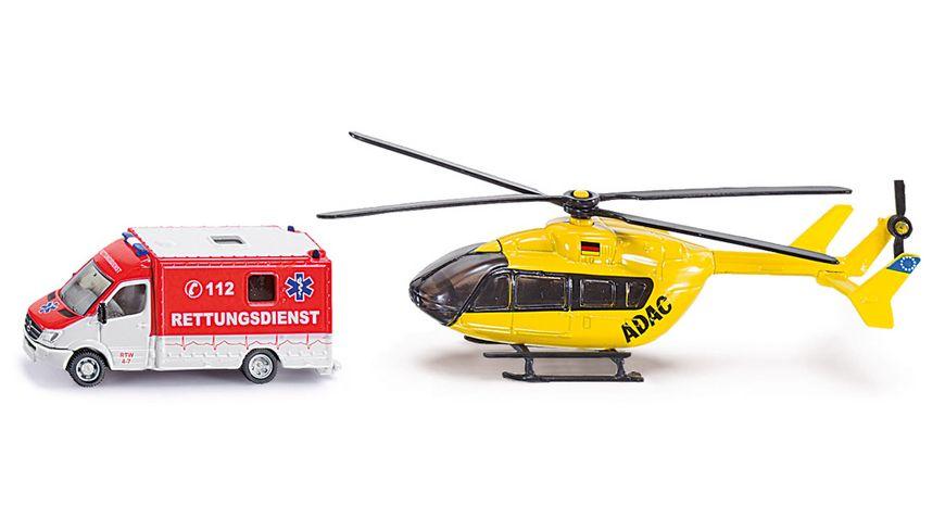 SIKU 1850 Super Rettungsdienst Set