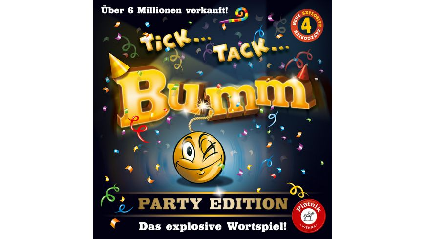 Piatnik Tick Tack Bumm Party Edition