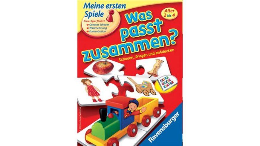 Ravensburger Spiel Was passt zusammen