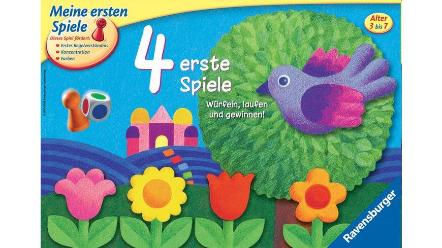 Ravensburger Spiel - 4 erste Spiele