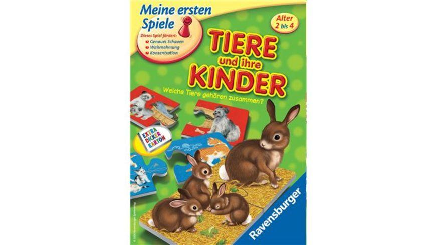 Ravensburger Spiel Tiere und ihre Kinder
