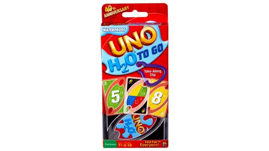 Mattel Games UNO H2O To Go