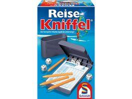 Schmidt Spiele Familienspiele Reise Kniffel mit Zusatzblock