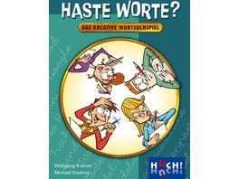 Huch Verlag Haste Worte