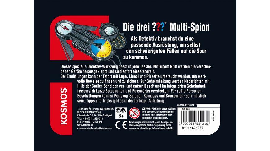 KOSMOS Die drei Multi Spion