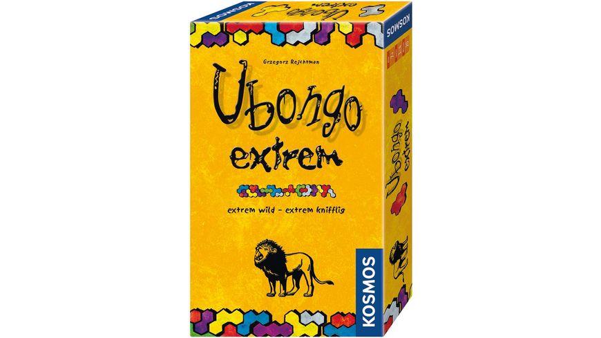 KOSMOS Ubongo extrem Mitbringspiel Schnell gelegt und flugs gewonnen