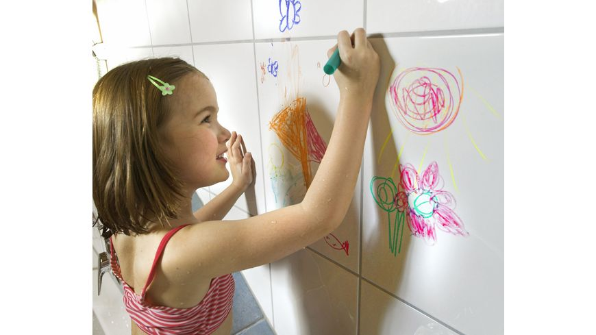 Heless Seifenmalstifte fuer die Badewanne