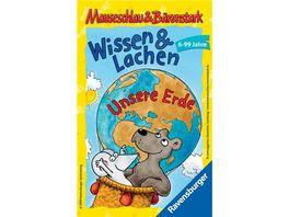 Ravensburger Spiel Mitbringspiel Mauseschlau Baerenstark Wissen und Lachen