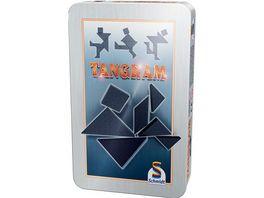 Schmidt Spiele Reisespiele Tangram in Metalldose