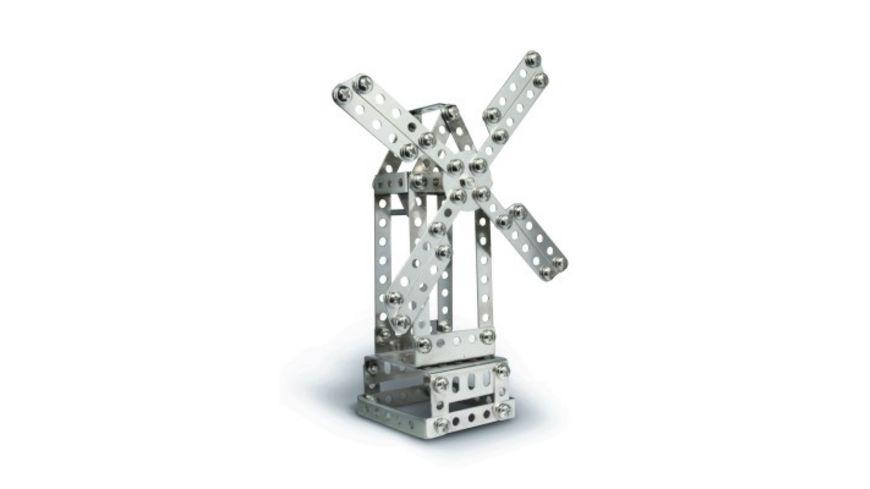 eitech Metallbaukasten C05 Universal Hebebruecke Kran