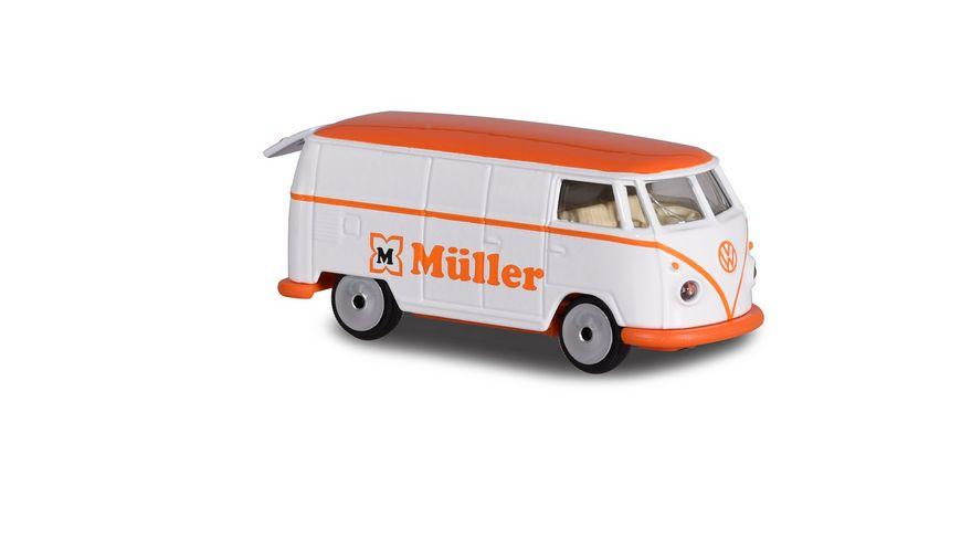 Majorette Vintage VW T1 Mueller