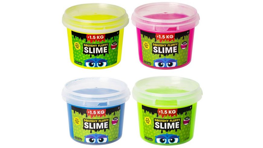 Squishy Fluffy Slime sortiert