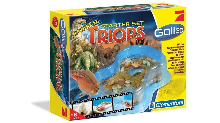Clementoni Galileo Original Triops Starter Set
