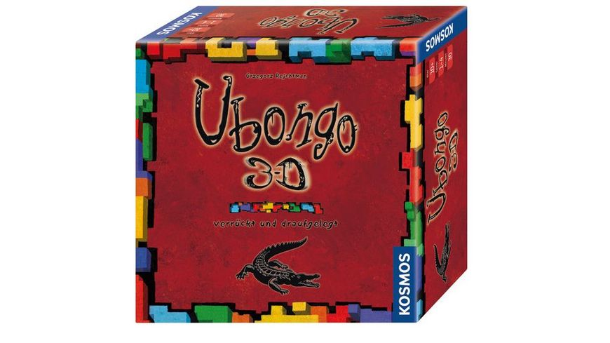KOSMOS Ubongo 3 D Verrueckt und draufgelegt