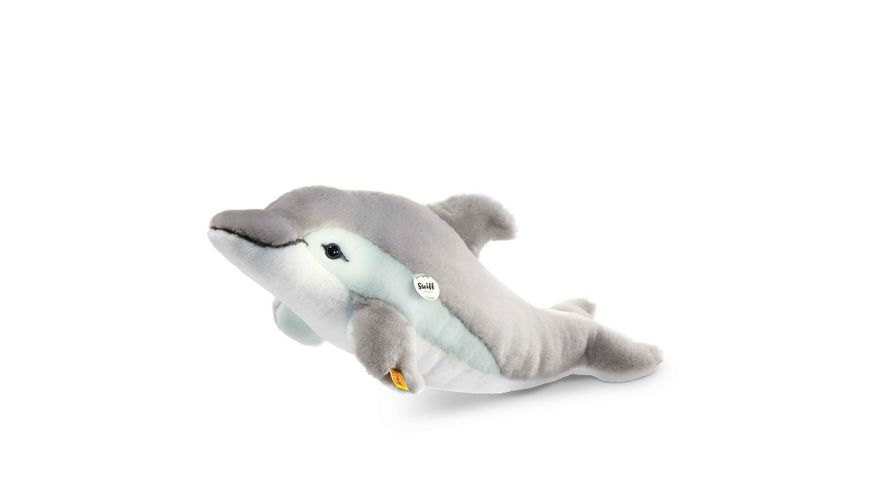Steiff Kuscheltiere Arktis Seetiere Cappy Delphin grau weiss 35cm