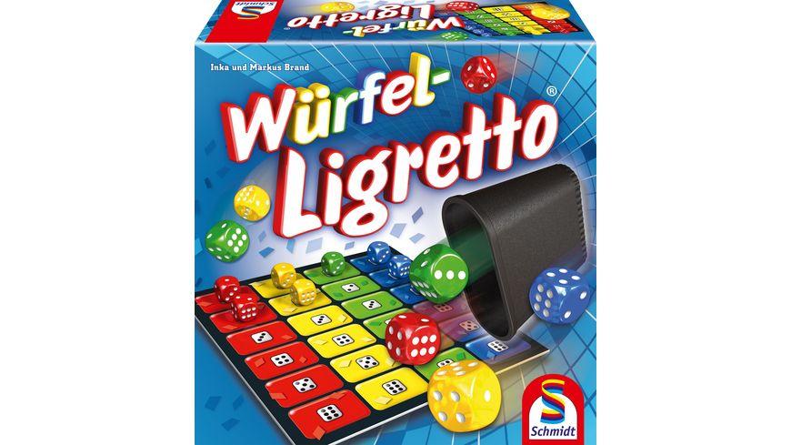 Schmidt Spiele Wuerfel Ligretto