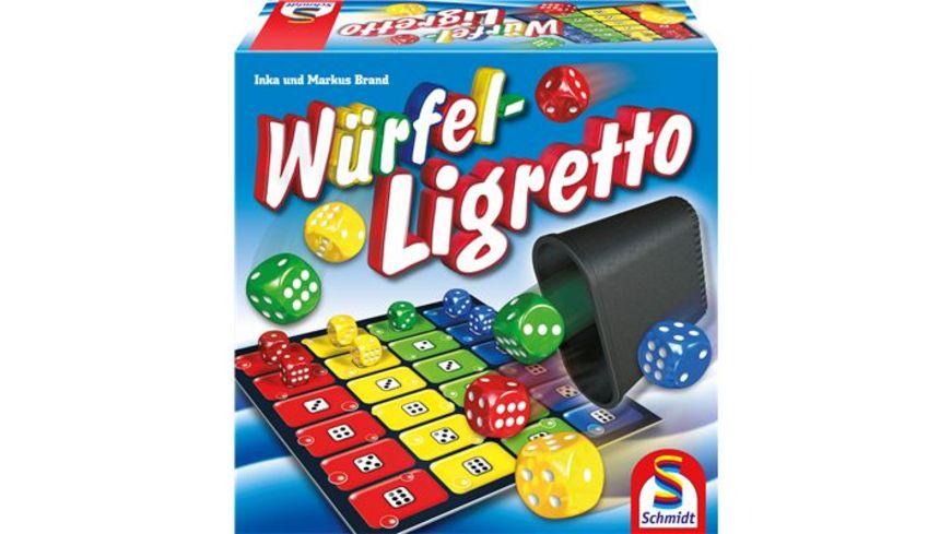 Schmidt Spiele Familienspiele Wuerfel Ligretto