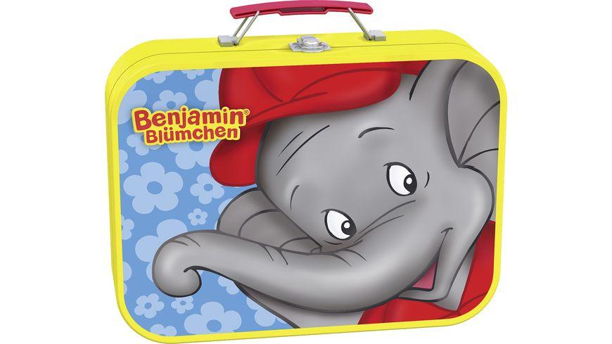 Schmidt Spiele Puzzle Puzzle Box im Metallkoffer Benjamin Bluemchen 2x26 2x48 Teile