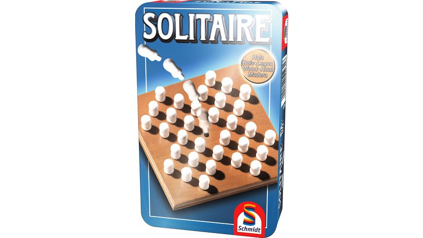 Schmidt Spiele Bingo Bring-Mich-Mit-Spiel in Metalldose Brettspiel Spiel