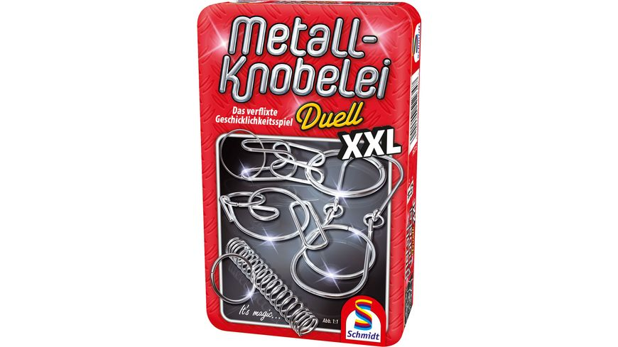 Schmidt Spiele Metall Knobelei XXL in Metalldose