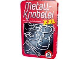 Schmidt Spiele Reisespiele Metall Knobelei XXL in Metalldose
