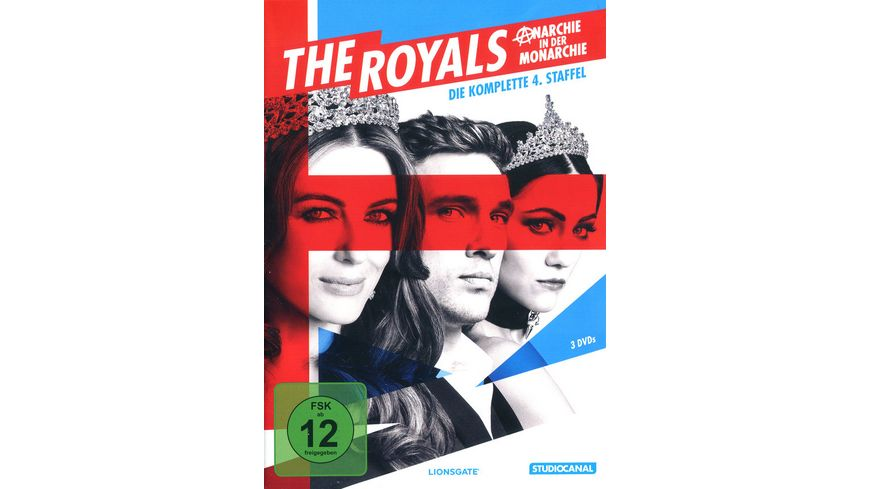 The Royals Staffel 4 3 DVDs