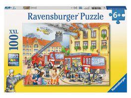 Ravensburger Puzzle Unsere Feuerwehr 100 Teile