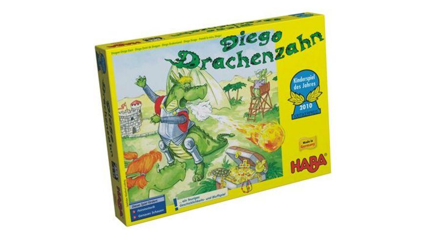 HABA Familienspiel Diego Drachenzahn