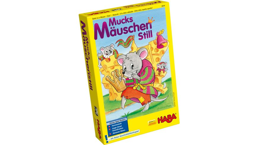 HABA Mucksmaeuschenstill