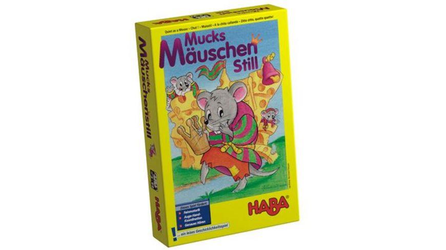 HABA Mitbringspiel S Mucksmaeuschenstill