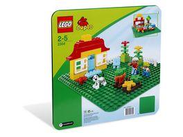 LEGO DUPLO 2304 Grosse Bauplatte gruen