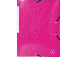 EXACOMPTA Eckspanner Juris A4 rosa