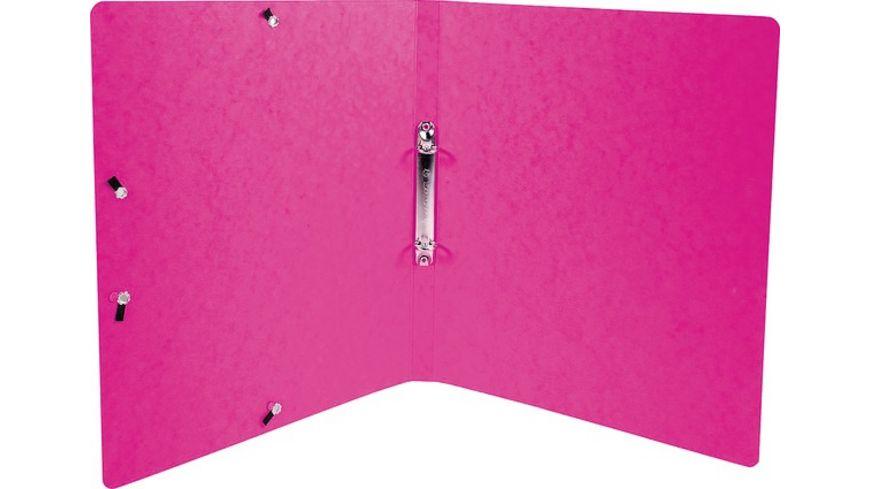 EXACOMPTA Ringbuch A4 schmal rosa