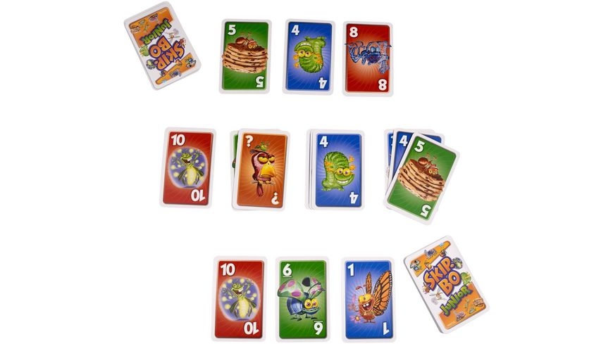 Mattel Games Skip Bo Junior
