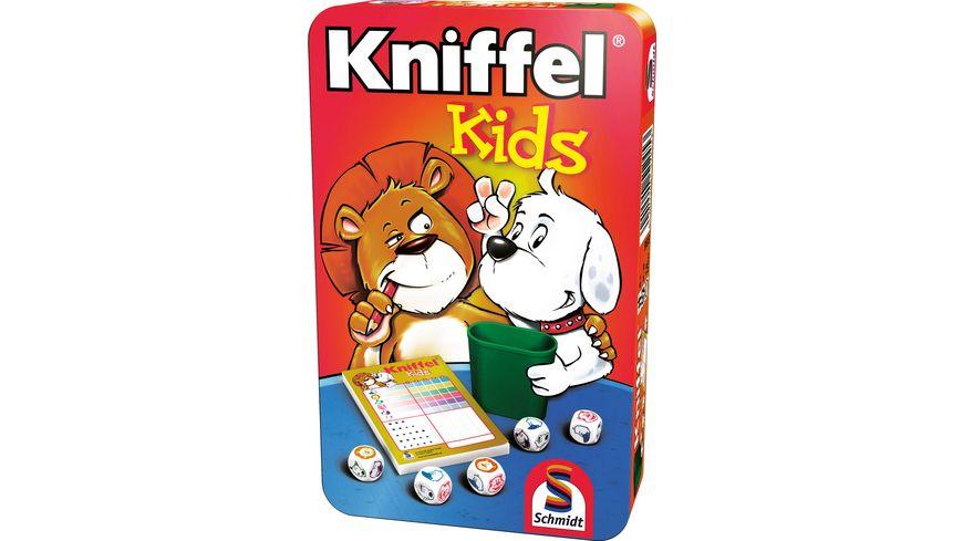 Schmidt Spiele Kniffel Kids in Metalldose