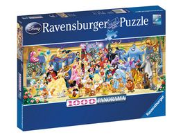 Ravensburger Puzzle Panorama Disney Gruppenfoto 1000 Teile