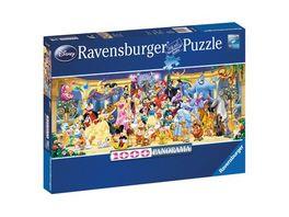 Ravensburger Panorama Puzzle Disney Gruppenfoto 1000 Teile