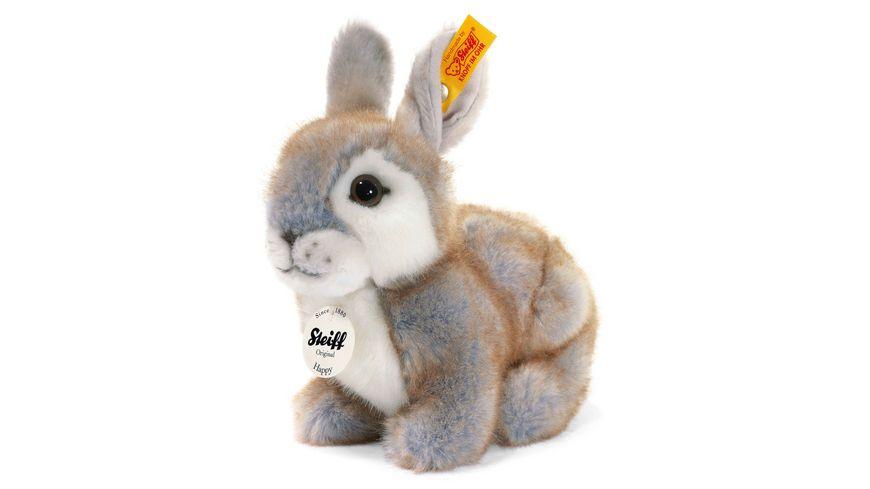 Steiff Happy Kaninchen grau gespitzt 18 cm