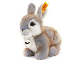 Steiff Beliebteste Kuscheltiere Hasen Laemmer Happy Kaninchen grau gespitzt 18cm