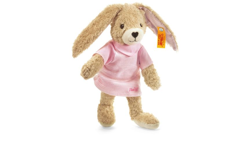 Steiff Babywelt Kuscheltiere fuer Babys Hoppel Hase rosa 20cm