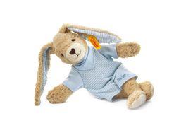 Steiff Babywelt Kuscheltiere fuer Babys Hoppel Hase blau 20cm