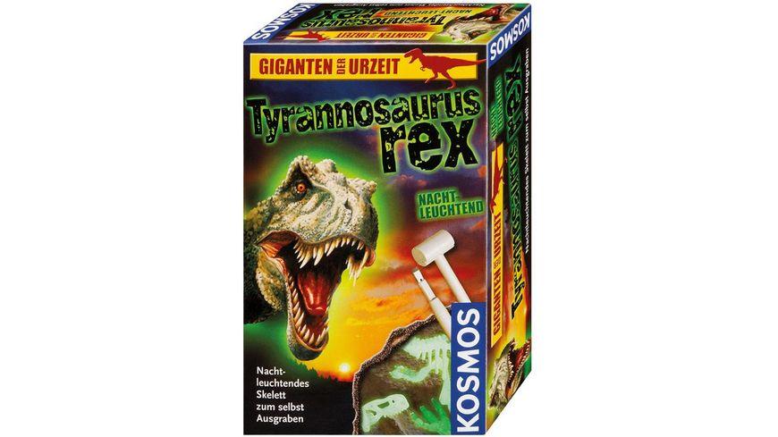 KOSMOS Ausgrabungsset Nachtleuchtender T Rex