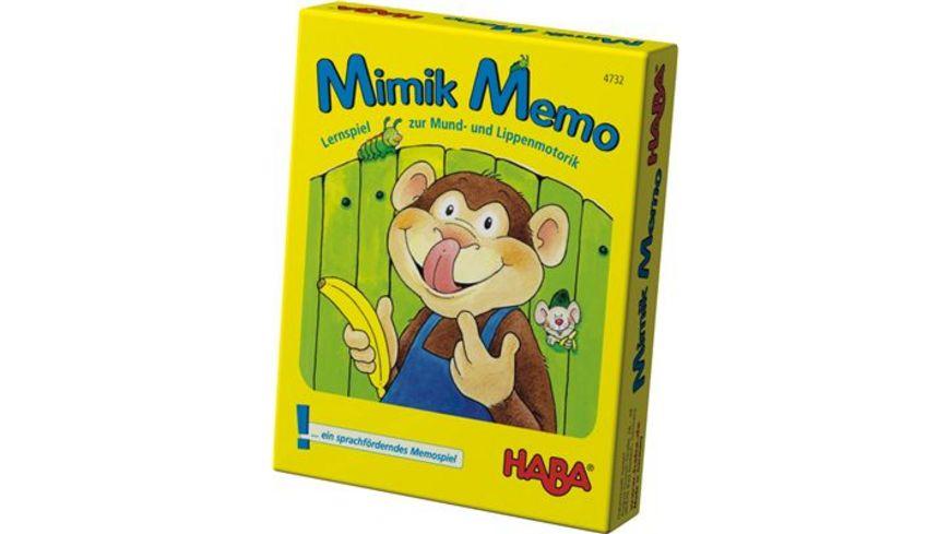 HABA Mimik Memo das Kartenspiel