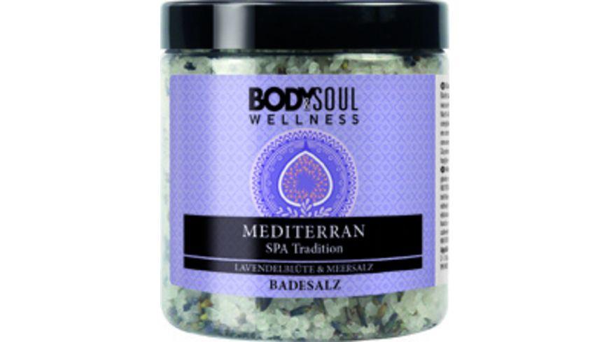 BODY SOUL WELLNESS Badesalz Mediterran