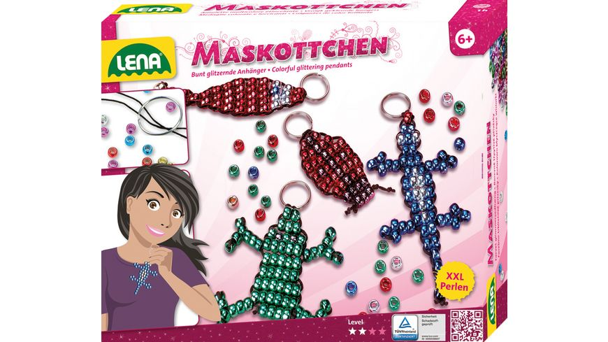 Lena - 42015 Magic World Fashion Fun - Maskottchen Perlen Set