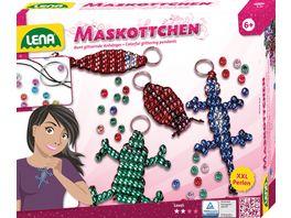 Lena 42015 Magic World Fashion Fun Maskottchen Perlen Set