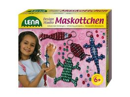 Lena 42015 Magic World Fashion Fun Maskottchen Perlen Set