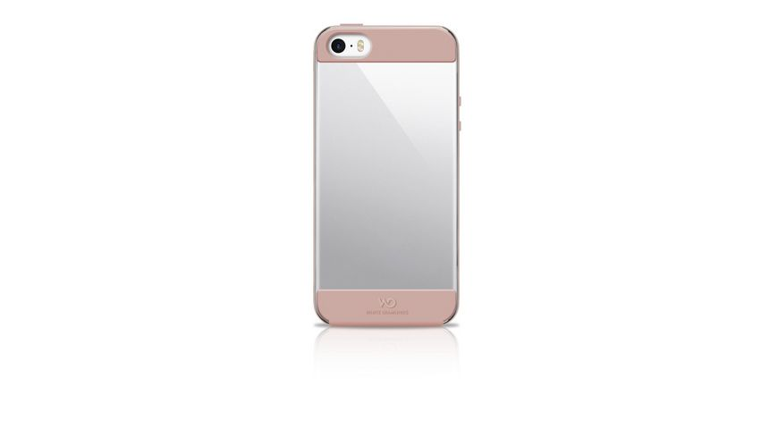 Cover Innocence Clear fuer Apple iPhone 5 5s SE New Rosegold
