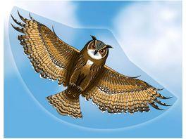 Guenther Flugmodelle Einleiner Drachen aus Folie Eule